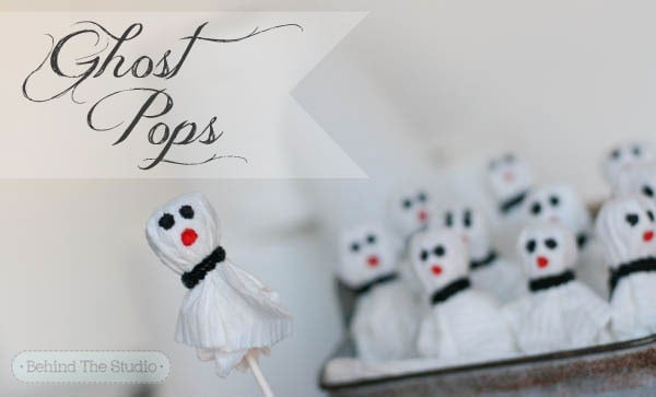 Making ghost pops for Halloween with Cottonelle Bath Tissue #CottonelleTarget #PMedia #ad