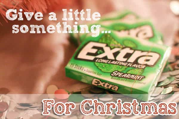 Give a little something extra this Christmas - #shop #GiveExtraGum
