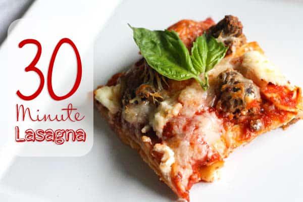 #Making lasagna in less than 30 min! #JoytotheTable #PMedia #ad