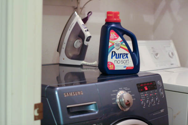 Making my life easier with Purex® No Sort™ laundry detergent #LaundrySimplified #shop