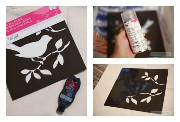 Home Decor with Tulip Stencils #TulipForYourHome