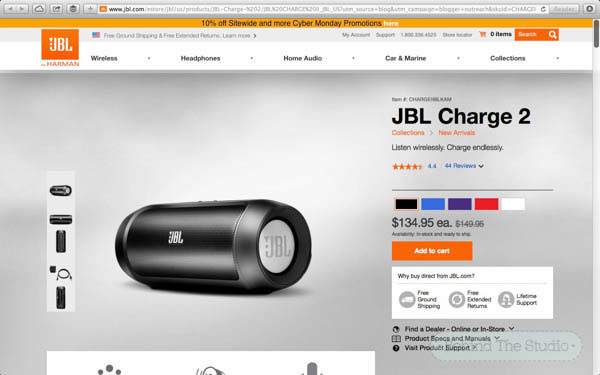 Giving the gift of music with JBL audio - #GiftingAudio #Cbias #shop