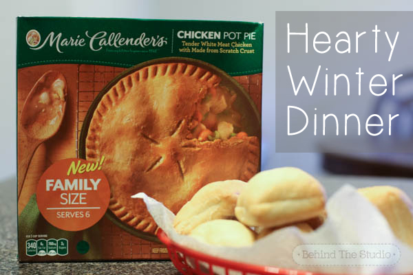 Hearty winter dinner solutions with Marie Callender's pies - #PotPiePlease #Cbias #shop