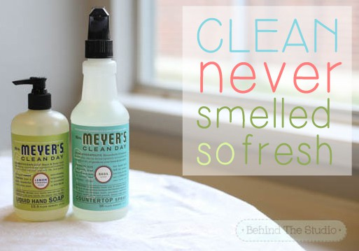 Keeping it clean and (smelling good) with Mrs Meyer's Clean Day products #HomeGrownInspiration #ad