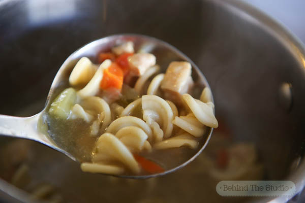 Making the best Cold-Day lunch with Campbells Slow Kettle Soup - #LoveLunchIn #Cbias #ad