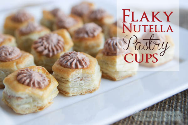 Dessert recipes with puff pastry shells