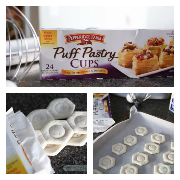 Flaky Nutella Pastry Cups with Pepperidge Farm Puff Pastry - #puffpasty #ad