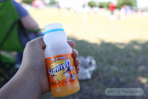 Fueling up for soccer day with SunnyD #WhereFunBegins #Cbias #AD