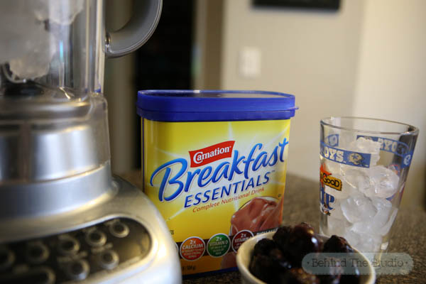 Jump starting my morning with a Chocolate Cherry Breakfast Shake #50YearsofBreakfast #ad