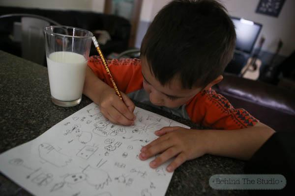 The After-School Artist #MilkLife #sponsored