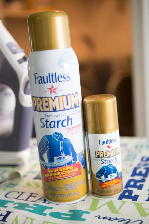 Faultless Spray Starch - Laundry's new BFF