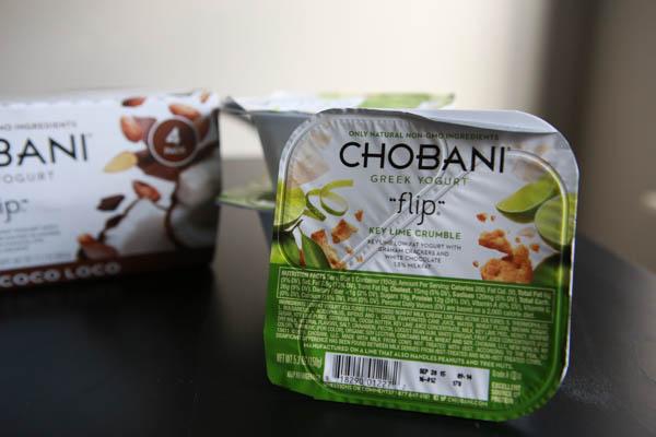 On the go Essentials - Chobani Flip Greek Yogurt #HelloSummer #chobaniCG #AD