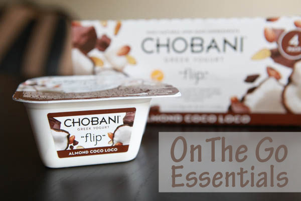 On the go Essentials - Chobani Flip Greek Yogurt #HelloSummer #chobaniCG #AD