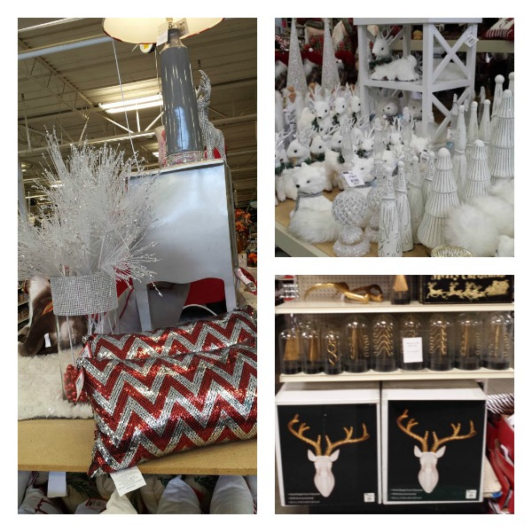 Going to at home for some holiday deals on decor behind for Christmas decorations home bargains