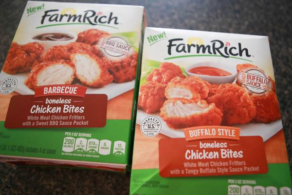 Farm Rich buffalo chicken & swiss sliders sliders hack #BackYourSnack #AD