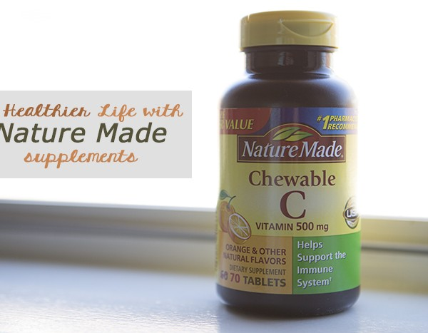 Keeping a healthier lifestyle with Nature Made Supplements - #AD #NatureMade #IC