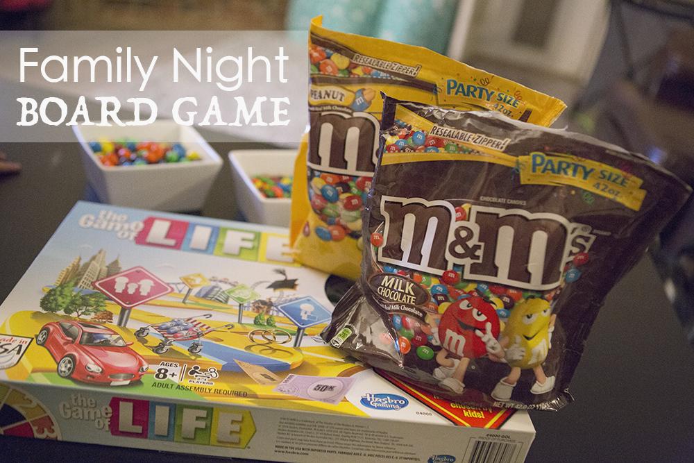 Family Game night with M&M's #GameNightIn #AD