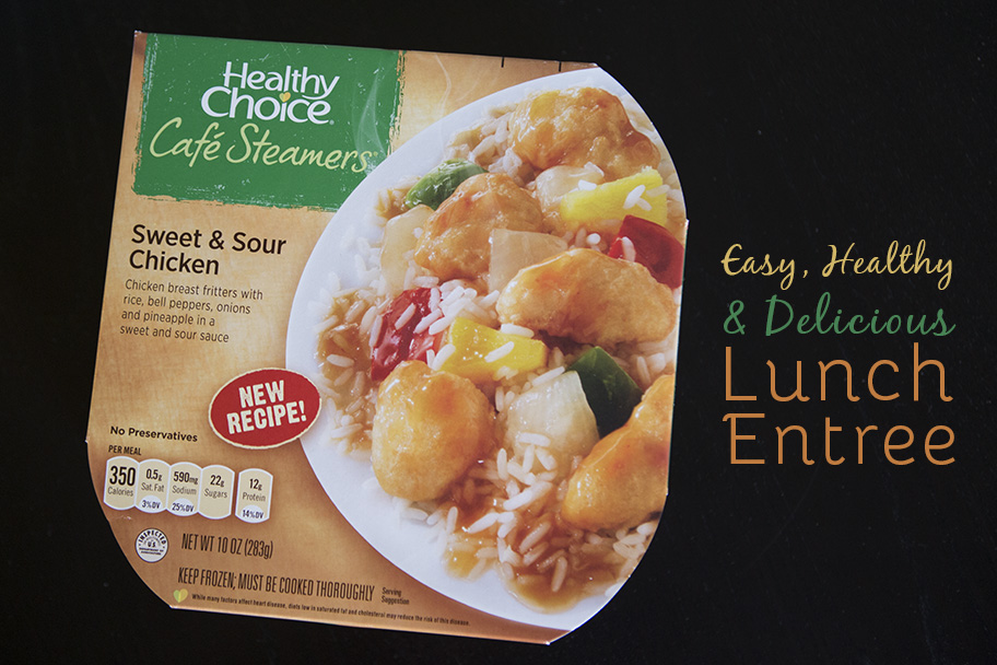 Healthy Choice Cafe Steamers - #LiveHealthyChoice #ad