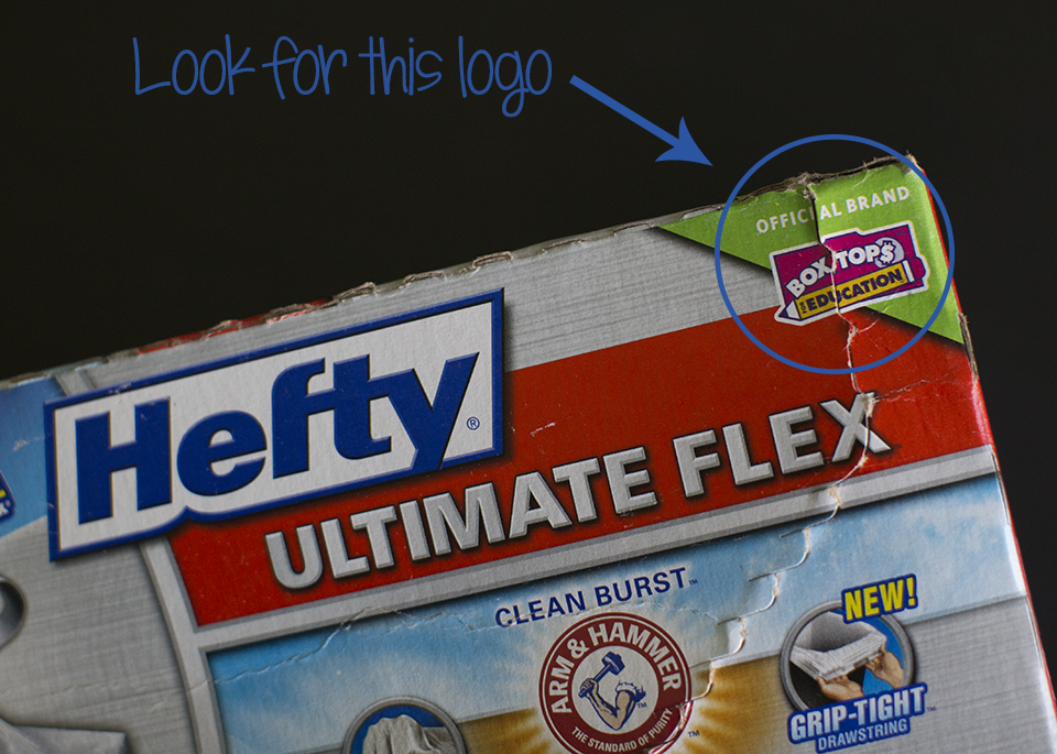 What collecting box tops mean to my child - #SchoolSupplied #CG