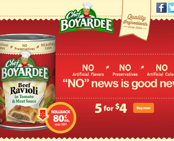 Enjoy back to school savings with Chef Boyardee on rollback at Walmart #AD #SaveOnChef