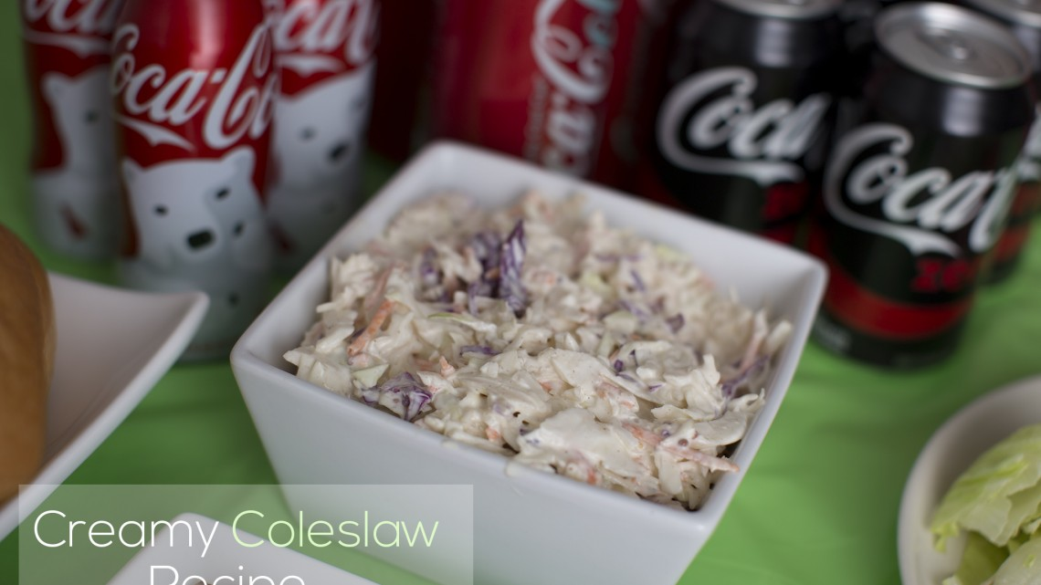 How to make creamy coleslaw for gameday - #AD #DGUnitedByFootball