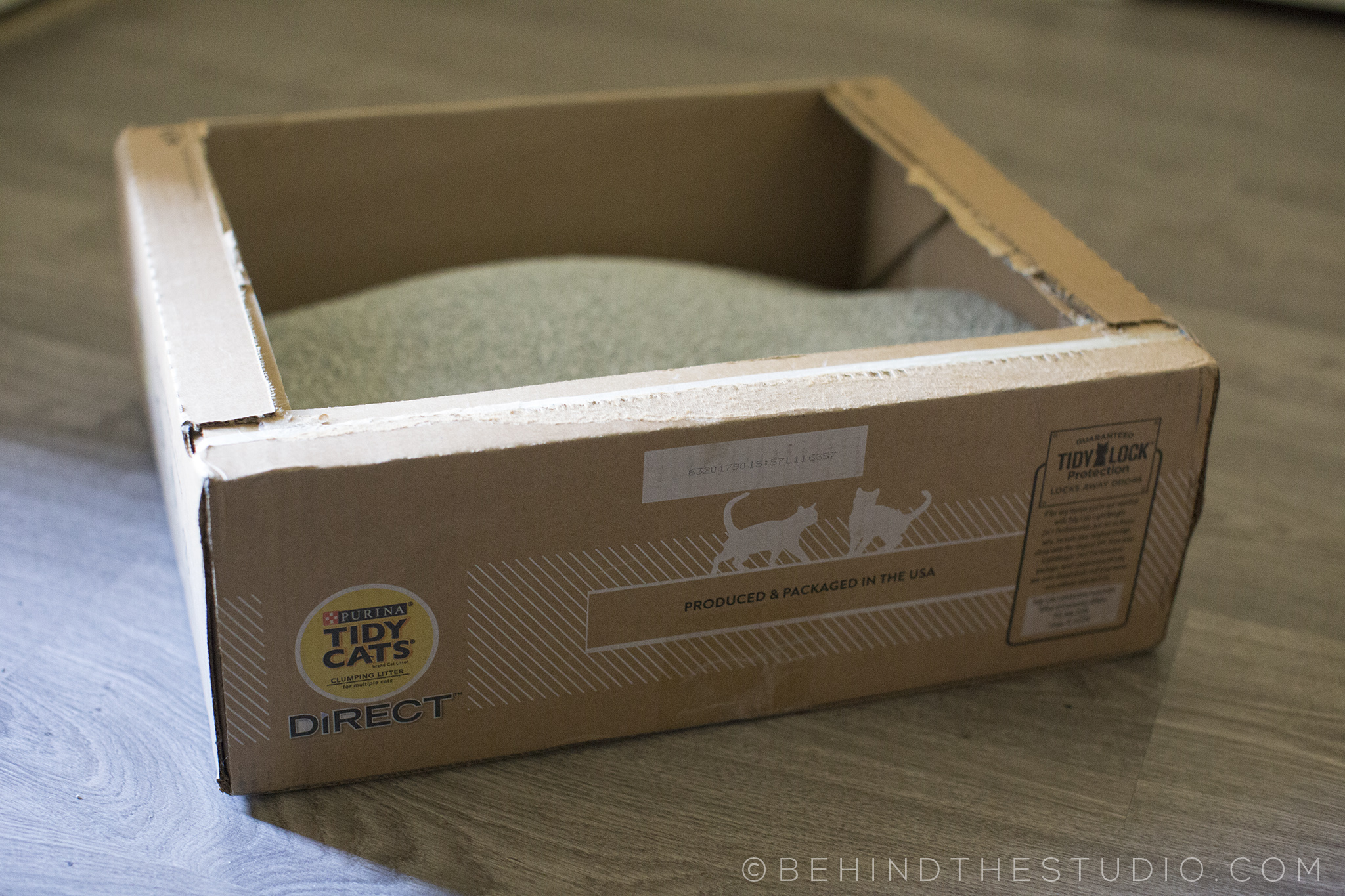 TidyCats Direct - disposable cat litter box #AD #TidyCatsDirect #IC