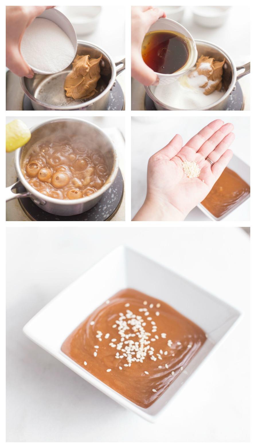 The BEST peanut sauce recipe